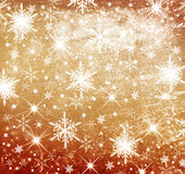 Christmas background. Christmas sepia gilted and bright background Royalty Free Stock Images