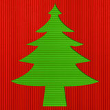 Christmas background. Christmas Corrugated paper stick  background Royalty Free Stock Images