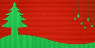 Christmas background. Christmas Corrugated paper stick background Stock Image