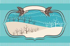 Christmas background. For a design Royalty Free Stock Photos