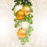 Christmas background stock illustration