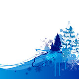 Christmas Background. Illustration of an Abstract Christmas Background Stock Image
