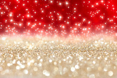 Christmas background. Abstract  twinkled  christmas background with stars Stock Photo