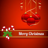 Christmas background. With christmas decorations Royalty Free Stock Images