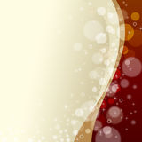 Christmas background. With many circles, stars and snowflakes Royalty Free Stock Photography