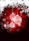 Christmas background. Abstract christmas background. Vector illustration Stock Photo