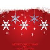 Christmas background . Christmas background with snow.vector Royalty Free Stock Photo