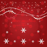 Christmas background . Christmas background with snow.vector Stock Image
