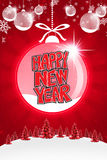Christmas background. Happy new year background with plastecine Royalty Free Stock Images