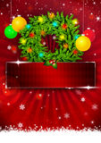Christmas background. Christmas business or party photo background with space Royalty Free Stock Photos