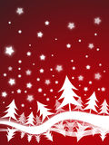 Christmas background. Christmas card, background, new year, winter vector illustration