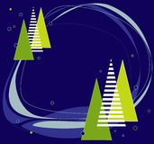 Christmas background. Abstract background with christmas motive Stock Images
