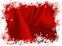 Christmas Background. Decorative Illustration, winter background with snowflakes, and beautiful red colors. Graphic representation for seasonal celebrations like Royalty Free Stock Images