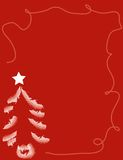 Christmas background. Playful Christmas background with space for writing Royalty Free Stock Photography