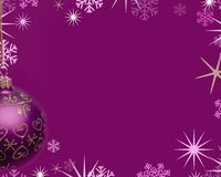 Christmas background. Festive christmas scene Stock Photography