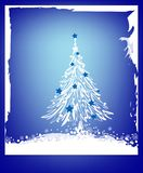 Christmas background. Pretty xmas background for cards etc Royalty Free Stock Photos
