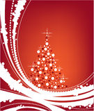 Christmas background. Pretty xmas background for cards etc Royalty Free Stock Photo