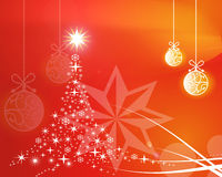 Christmas background. This is a Christmas background Stock Images