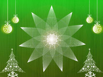 CHRISTMAS BACKGROUND. A Textured Christmas frame/background Royalty Free Stock Photos