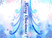 Christmas  background. Vector without gradient Royalty Free Stock Photo