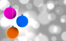 Christmas background - 3D Stock Photography