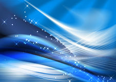 Christmas background. Abstract blue and ripple background Royalty Free Stock Photos