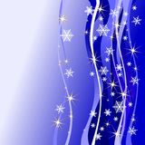 Christmas background. With stars, illustration Royalty Free Illustration