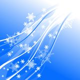 Christmas background. With stars, illustration Stock Images