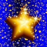 Christmas background. With stars, illustration Stock Illustration