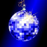 Christmas background. With christmas ball, illustration Royalty Free Stock Photo