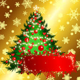 Christmas background. This illustration can be used for your design Stock Photos