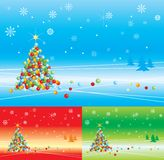 Christmas background. Vector illustration of christmas background Stock Illustration