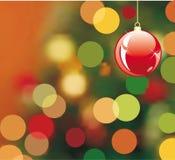 Christmas Background. Grunge christmas background, vector illustration Stock Photography