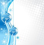 Christmas background. Christmas wave background, vector illustration Stock Images