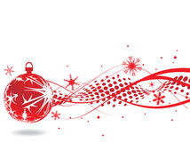 Christmas background. Christmas wave background, vector illustration Royalty Free Stock Images