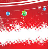 Christmas background. Christmas wave background, vector illustration stock illustration