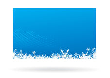 Christmas background. Snowflake red christmas background, vector illustration Royalty Free Stock Image