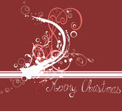 Christmas background. Illustration of a Christmas background Royalty Free Stock Image