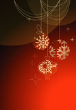 Christmas background. Christmas red  background, vector illustration Royalty Free Stock Images