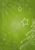 Christmas background. Green christmas background. FIND MORE backgrounds in my portfolio Stock Image