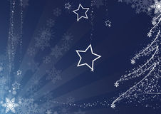 Christmas background. Blue christmas background. FIND MORE backgrounds in my portfolio Stock Image