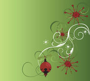 Christmas background. Illustration of a Christmas background Royalty Free Stock Photography
