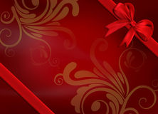Christmas background. Classical christmas background design effect Stock Images