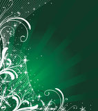 Christmas background. In green palette Royalty Free Stock Photos