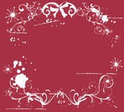 Christmas background. Illustration of a grungy Christmas background Stock Photo