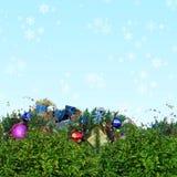 Christmas  background. Christmas / Winter theme - stars background Stock Photography