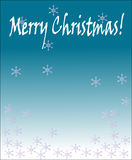 Christmas background. Abstract  background with Christmas snowflakes Stock Image