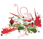 Christmas background. Illustration of a Christmas background Royalty Free Stock Images
