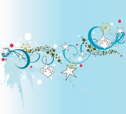 Christmas background. Illustration of a Christmas background Stock Images