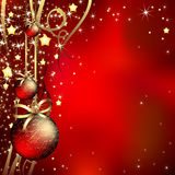 Christmas background. Red christmas background. This illustration can be used for your design